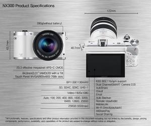 Samsung NX300 spec