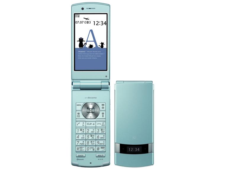 Docomo NEC N-01E Blue - Omega Gadget 1