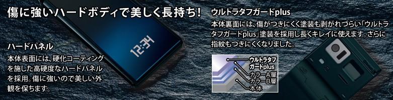 Fujitsu F-01E coating
