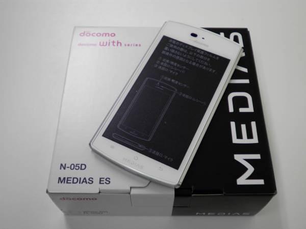 มือถือ DOCOMO แอนดรอยด์ ญี่ปุ่น กันน้ำ NEC Medias ES N-05D แกะกล่อง