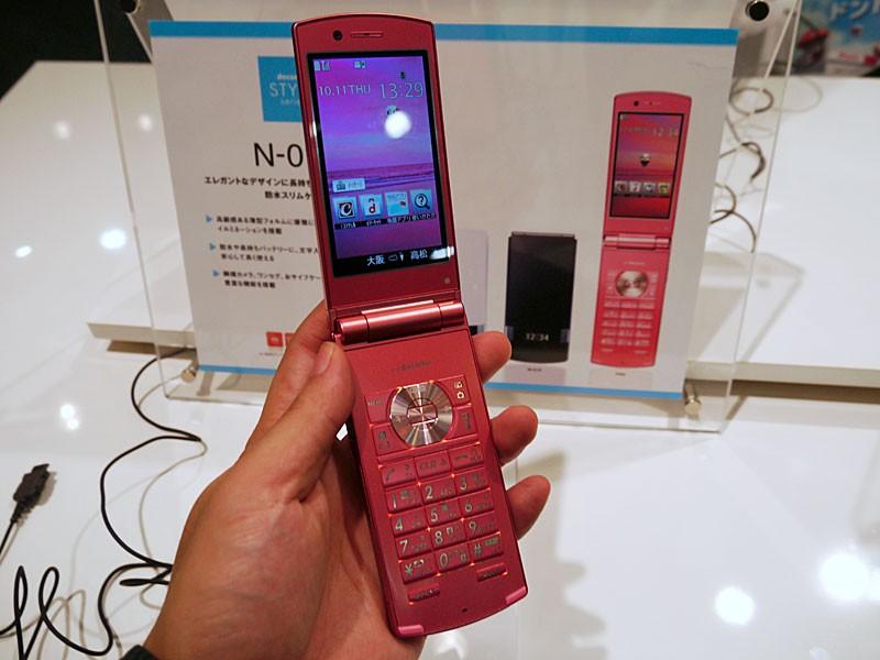 มือถือญี่ปุ่น ฝาพับ ntt Docomo NEC N-01E