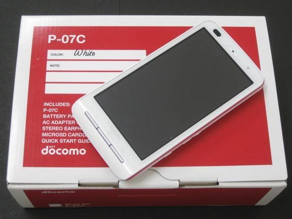 มือถือญี่ปุ่น NTT Docomo Panasonic P-07C Elegance