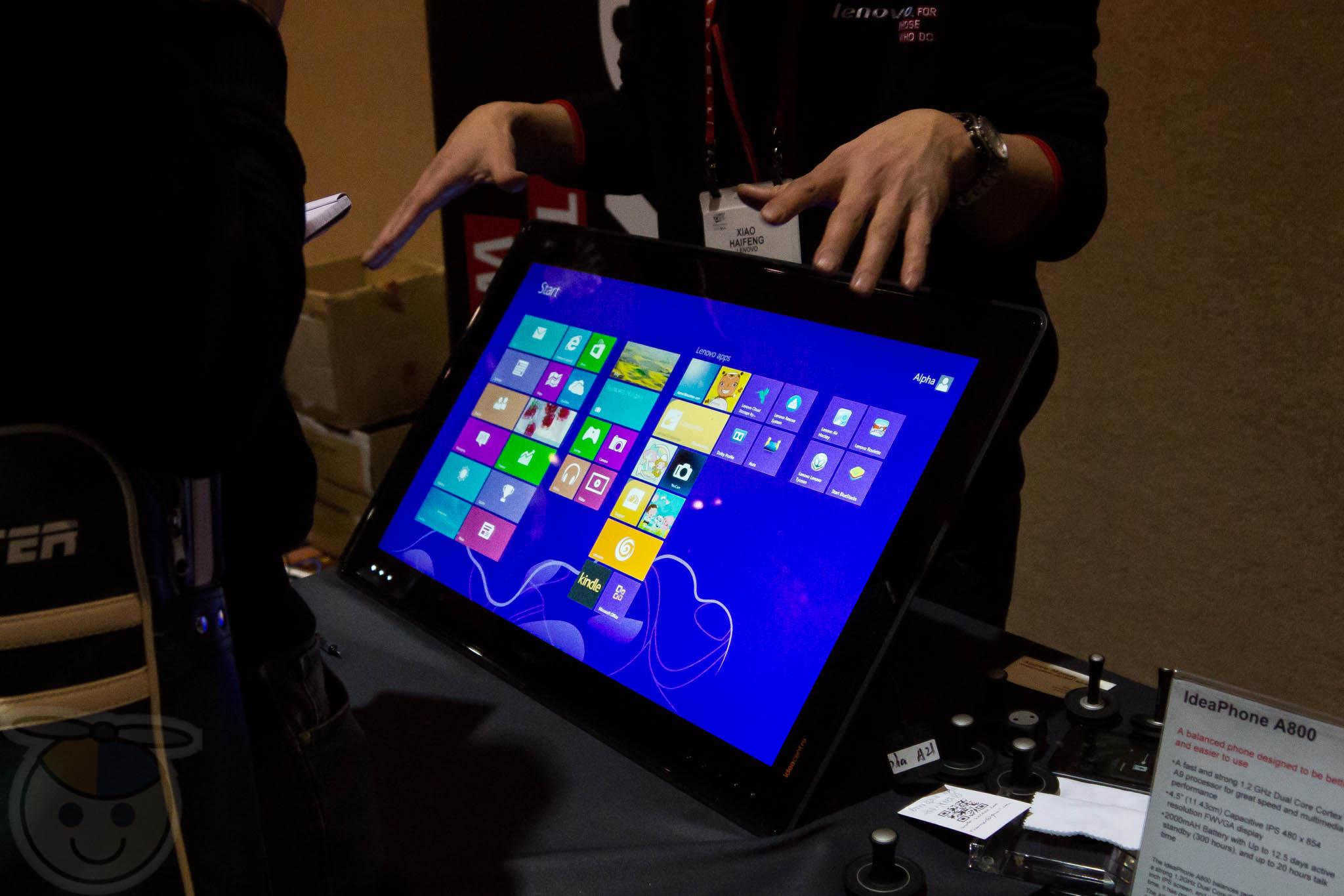 Lenovo IdeaCentre Horizon - Omega Gadget