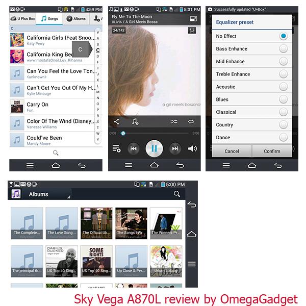 Sky Vega A870L - Omega Gadget 17