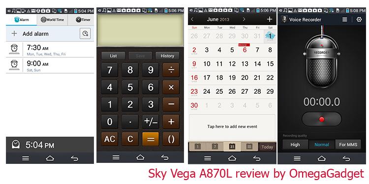 Sky Vega A870L - Omega Gadget 22