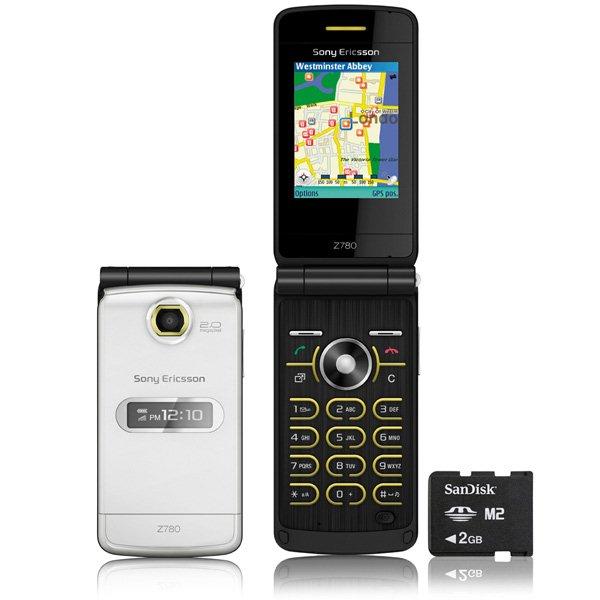 มือถือคลาสสิค Sony Ericsson Z780 - Omega Gadget 02