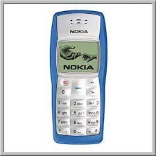 Nokia 1100 Blue - Omega Gadget