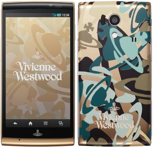 Docomo Sharp SH-01E Vivienne Westwood Limited Edition