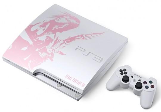 Sony PlayStation 3 Slim Final Fantasy XIII Lightning Edition - Omega Gadget