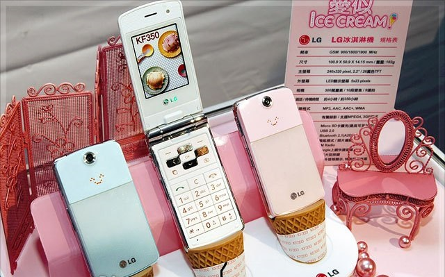 LG Ice Cream - Omega Gadget
