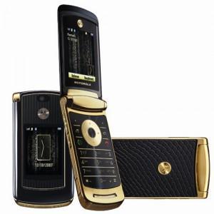 Motorola RAZR2 V8 Luxury Gold Edition - Omega Gadget 5