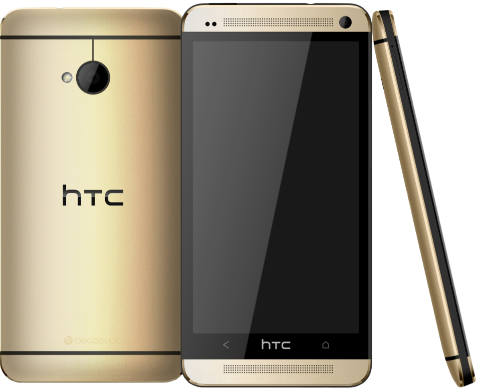 HTC One M7 สีทอง - Omega Gadget 3