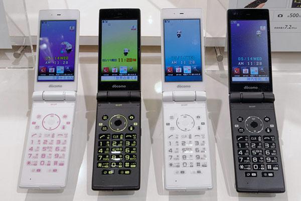 Docomo SH-07E Sharp Aquas Phone - Omega Gadget 5