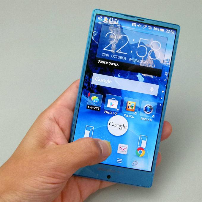 Docomo SH-01G Sharp Aquos Phone Zeta 6 - Xiaomi Thailand 19